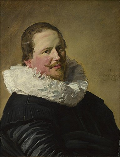 National Male Costume Europe (Polyster Canvas ,the Beautiful Art Decorative Prints On Canvas Of Oil Painting 'Frans Hals Portrait Of A Man In His Thirties ', 16 X 21 Inch / 41 X 53)
