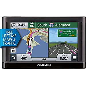 Garmin nüvi 55LMT GPS Navigators System with Spoken Turn-By-Turn Directions, Preloaded Maps and Speed Limit Displays (Lower 49 U.S. States)-(Certified Refurbished)