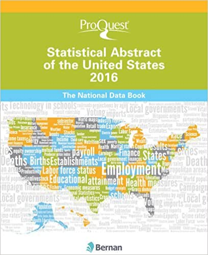 ProQuest Statistical Abstract of the United States 2016: The ...