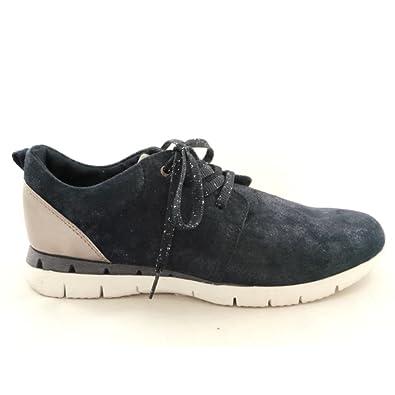 MARCO TOZZI , Damen Sneaker Blau Navy: : Schuhe