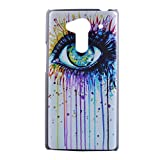 PowerQ M-M Colorful Pattern PC Case for Acer Liquid Z5 Z150 with Beautiful Pretty Pattern Print Printing Drawing Plastic Case Hard Cover - colorful big eye