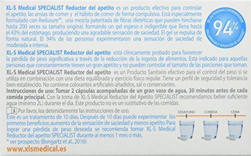 XLS Medical  - Cápsulas reductoras del apetito. Tratamiento y prevención del exceso de peso y control general del peso 6
