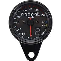 Velocímetro universal para motocicleta con cuentakilómetros retro