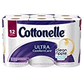 Cottonelle Ultra Comfort Care Toilet Paper, Double Roll Economy Plus Pack,12 Count ( Pack of 4 )