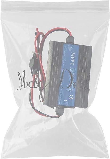 MagiDeal Panel Solar MPPT Boost Bater/ía de Regulador Cargador 24V-72V Azul