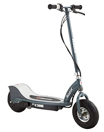 Razor-E300 Scooter eléctrico, Color Plata, 0 (13113612 ...