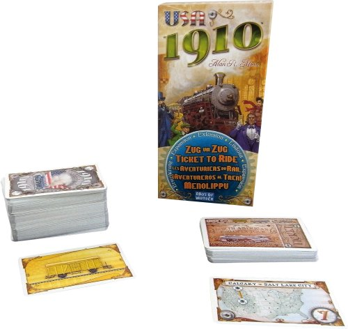 Ticket To Ride 1910 Expansion (Ticket Base)