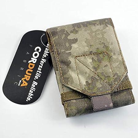 Patch Nation Cas de Champ Militaire de T/él/éphone de Molle Tactique de Tissu en Nylon 1000D