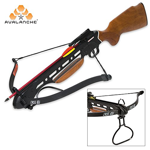K EXCLUSIVE Avalanche Trail Blazer Crossbow Wooden Stock ()