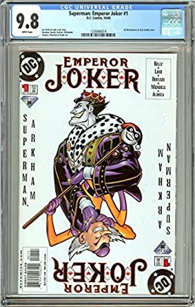 Superman: Emperor Joker #1 (2000) CGC 9.8 White Pages 1230406014