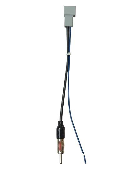 amazon com: dkmus car radio antenna adapter to aftermarket radio for select  honda acura mazda: car electronics