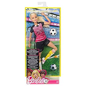 Barbie Made to Move The Ultimate Posable Soccer Player Doll