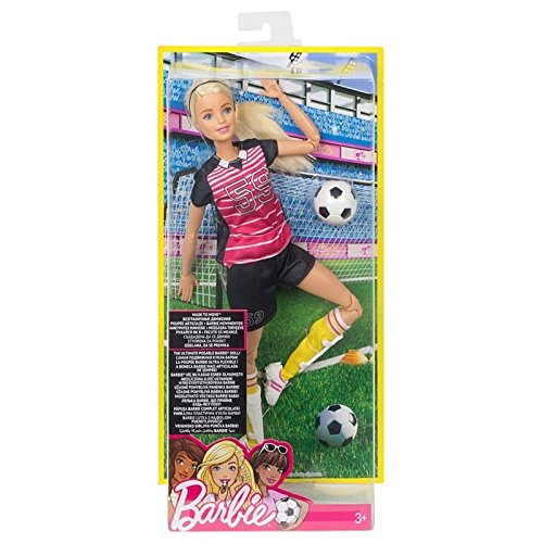Barbie Made to Move The Ultimate Posable Soccer Player Doll (Soccer Player Costumes)