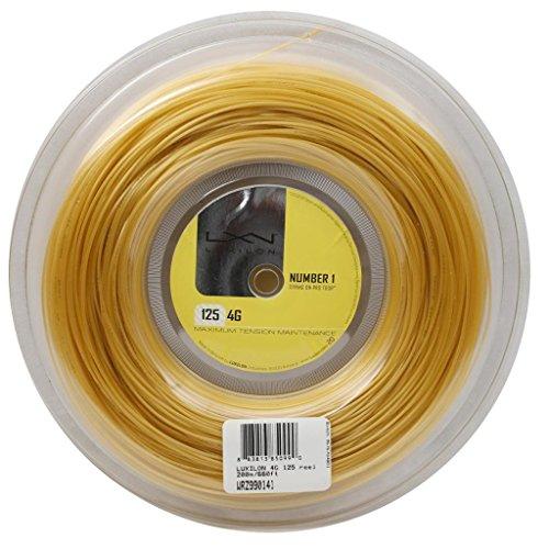 Wilson LUXILON 4G 125 Reel, Gold, 200m/16L-Gauge from Wilson