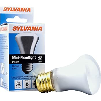 Sylvania 14821 40-Watt Incandescent R16 Mini-Reflector Light Bulb
