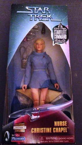 Star Trek - Nurse Christine Chapel - Starfleet Command Special Edition Figure