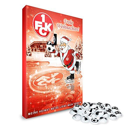 1. FC Kaiserslautern Adventskalender Weihnachtskalender gefüllt 2013