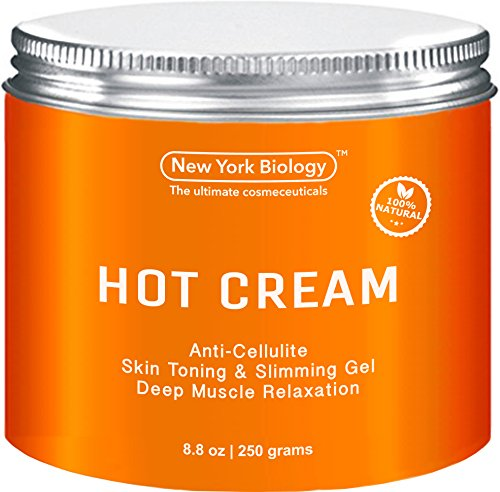 Cellulite Cream & Deep Muscle Relaxation Cream - Huge 8.8 oz - 100% Natural Ingredients - Anti Cellulite Treatment Skin Toning & Firming Cream - Muscle Cream, Muscle Relaxer, Hot Cream (Anti Cellulite Cream compare prices)