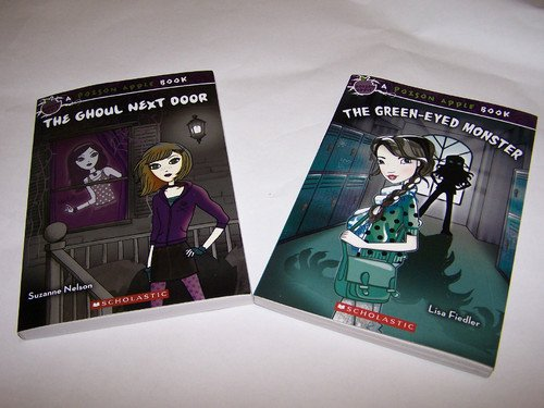 Poison Apple Set: The Ghoul Next Door and the Green Eyed Monster with Bonus Necklace (Poison Apple Books) (Poison Apple Book Set)