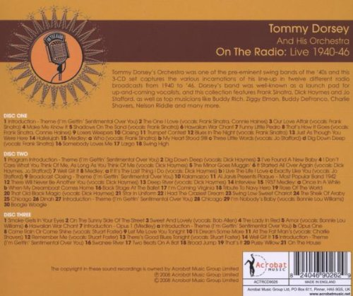 On the Radio: Live 1940-1946