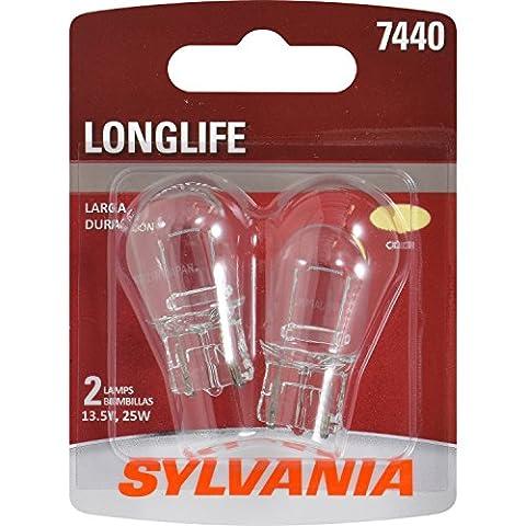 SYLVANIA 7440 Long Life Miniature Bulb, (Contains 2 Bulbs) (Toyota Sienna Third Brake Light)