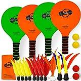 Funsparks Jazzminton Paddle Game Select Double - 4
