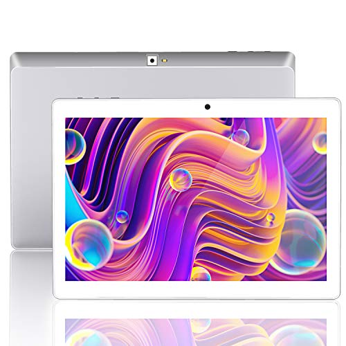 Android 9.0 Tablet 10 Inch, 10.1 Tablets 3G, 4G, HD, WiFi, 32GB RAM, 2GB ROM, GPS, GSM, Quad-Core, Dual Sim Card, 8.0MP…