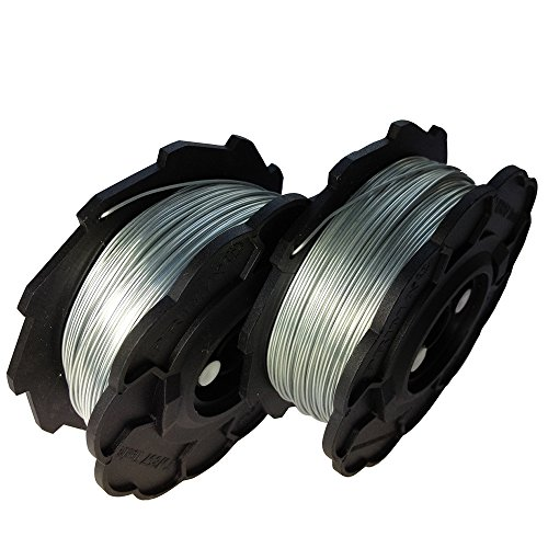 50 Rolls/ Coils 0.8mm/ 21 Gauge 95m /312 feet Rebar Electro Galvanized Steel Tie Wire Tying Wire for Rebar Wire Tier Strapping Binding Strapper Sheaf-binding Bunching Wire-tying Wire Tying Machine