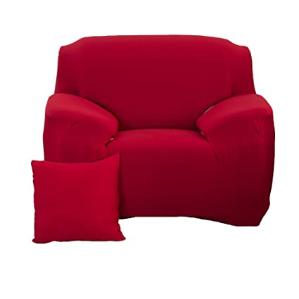 WOMACO Stretch Armchair Slipcover Arm Chair Elastic Couch Cover 1 Seats Pet  Dog Cat Sofa Protector