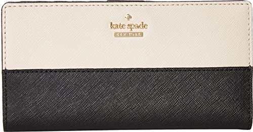 Kate Spade New York Women's Cameron Street Stacy Black/Tusk One Size by Kate Spade New York