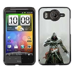 Asesinos Samurai OYAYO HTC G10 //Dise?os frescos para todos los gustos! Top muesca protección para su teléfono inteligente!