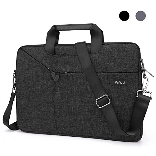 15.6 Inch Laptop Shoulder Bag, 360° Protective Sleeve Compatible with 15-15.6 Dell HP Acer Lenovo Chromebook Notebook