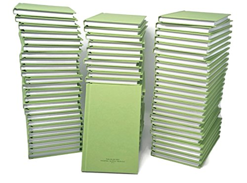 72 Book Bulk Case Pack | US Military Log Record Books 5-1/4 x 8 Inch 96 Sheets with Rugged Sewn Case Binding College Ruled Notebook NSN 7530-00-222-3521 by DIY Indispensables | Made in USA by DIY Indispensables