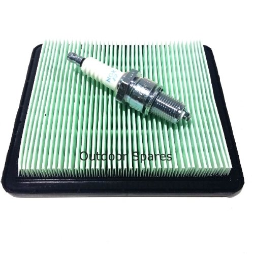 NGK Plug /& Air Filter Service Kit For Honda GCV135 and GCV160 Small Engines