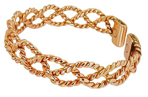 Copper Womens Magnetic Bracelet Arthritis