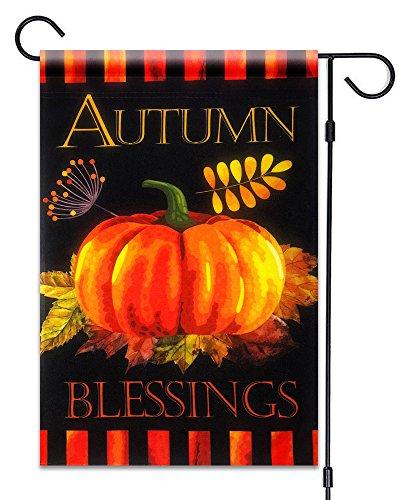 Happy Harvest - 51groups Fall Pumpkin Decorative Garden Flag 12