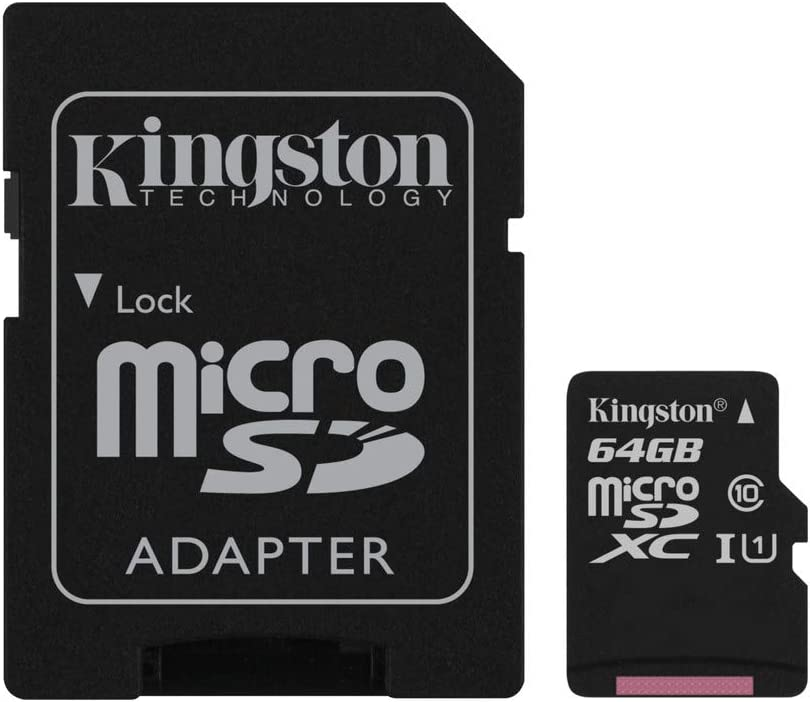 80MBs Works with Kingston Professional Kingston 64GB for T-Mobile Aspect MicroSDXC Card Custom Verified by SanFlash.