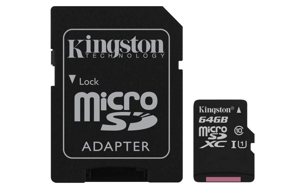 Kingston SDCG2/64GB Tarjeta MicroSD, Negro: BLOCK: Amazon.es ...