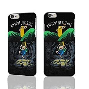 """Finn And Jake Adventure Time 3D Rough iphone Plus 6 -5.5 inches Case Skin, fashion design image custom iPhone 6 Plus - 5.5 inches , durable iphone 6 hard 3D case cover for iphone 6 (5.5""""), Case New Design By Codystore"""