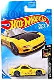 mazda rx7 hot wheels - Hot Wheels 2018 50th Anniversary Nightburnerz Mazda RX-7 16/365, Yellow