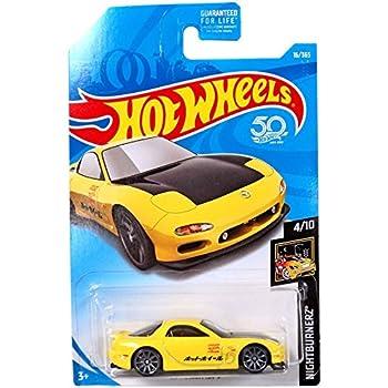 Amazon.com: Hot Wheels 2018 50th Anniversary Nightburnerz ...