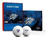 Vice GolfPRO PLUS NBA OKLAHOMA CITY THUNDER GOLF BALLS (Thunder)