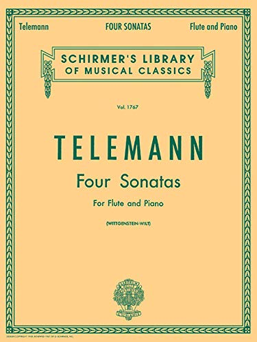 Four Sonatas For Flute and Piano, Vol. 1767 ()