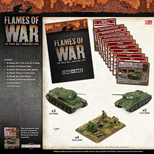 Flames of War: Mid War: Soviet Union: Nikolay's Steel Wall (SUAB09) from Flames of War