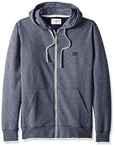 Billabong Men's All Day Zip Hoodie Navy Medium ()