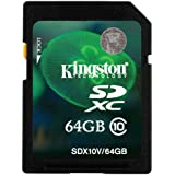 Kingston SD10X/64GB Class 10 SDXC 64GB Speicherkarte