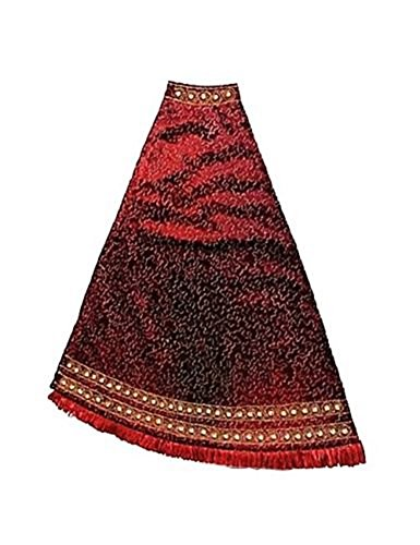 JAY STRONGWATER CHRISTMAS TREE SKIRT PUZZLE JEWELED EDGE BURGUNDY SIAM BRAND NEW by Jay Strongwater