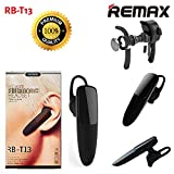 Remax RB-T13 Wireless Bluetooth Headset Black Earphone for Smartphones Business Headset Bluetooth V4.1