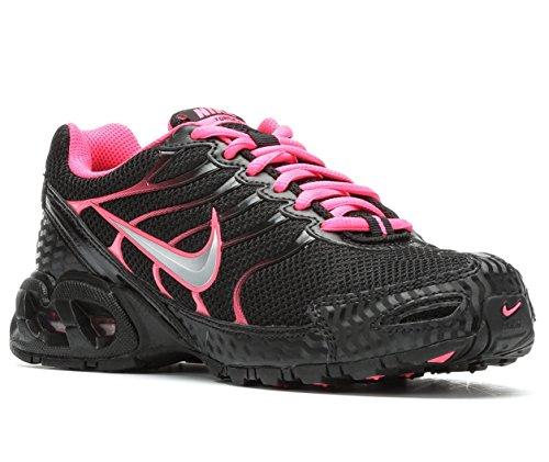 Nike Air Max Fakkel 4 Dames Loopschoenen Zwart / Volt Roze
