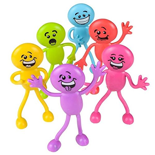 Emoji Goofy Face Bendable Figurines 1 Dozen